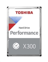 TOSHIBA HDD X300 10TB, SATA III, 7200 rpm, 256MB cache, 3,5