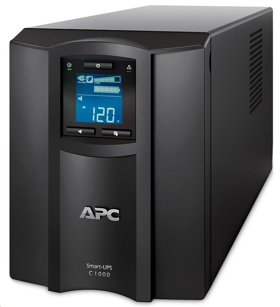 APC Smart-UPS C 1000VA LCD 230V with SmartConnect (600W)