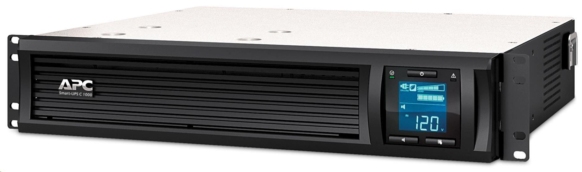 APC Smart-UPS C 1500VA LCD RM 2U 230V with SmartConnect (900W)