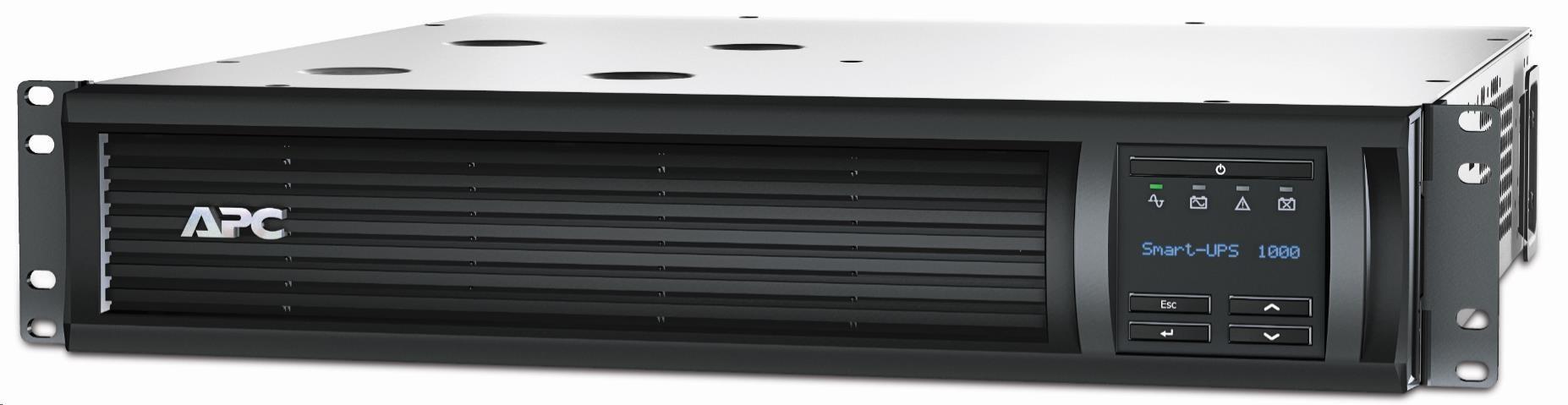 APC Smart-UPS 1000VA LCD RM 2U 230V with SmartConnect (700W)