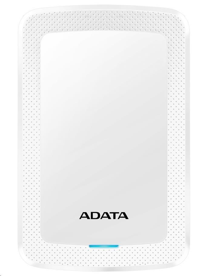 "ADATA Externí HDD 2TB 2,5"" USB 3.1 HV300, bílá"