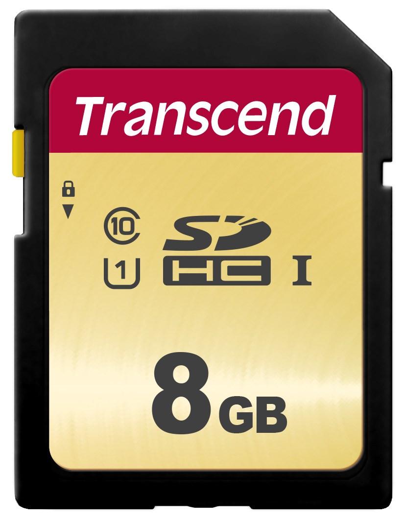 TRANSCEND SDHC 500S 8GB UHS-I U1 (R95, W60 MB/s)