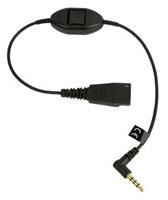 Jabra kabel QD -> 3,5 mm jack