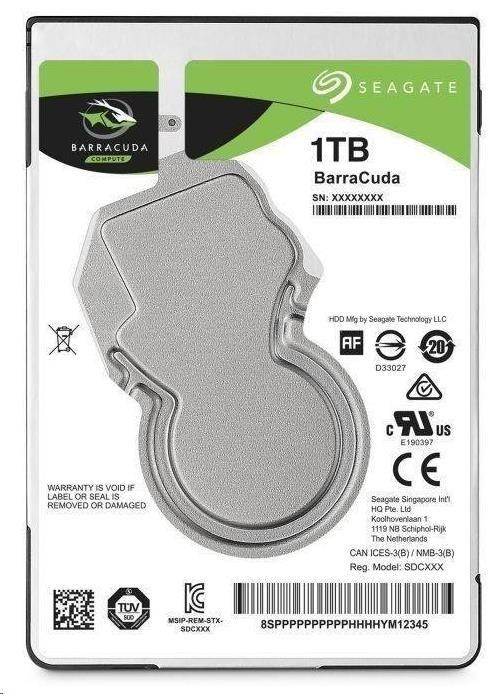 "SEAGATE HDD BARRACUDA PRO 2,5"" - 1TB, SATAIII, 7200rpm, 128MB cache"
