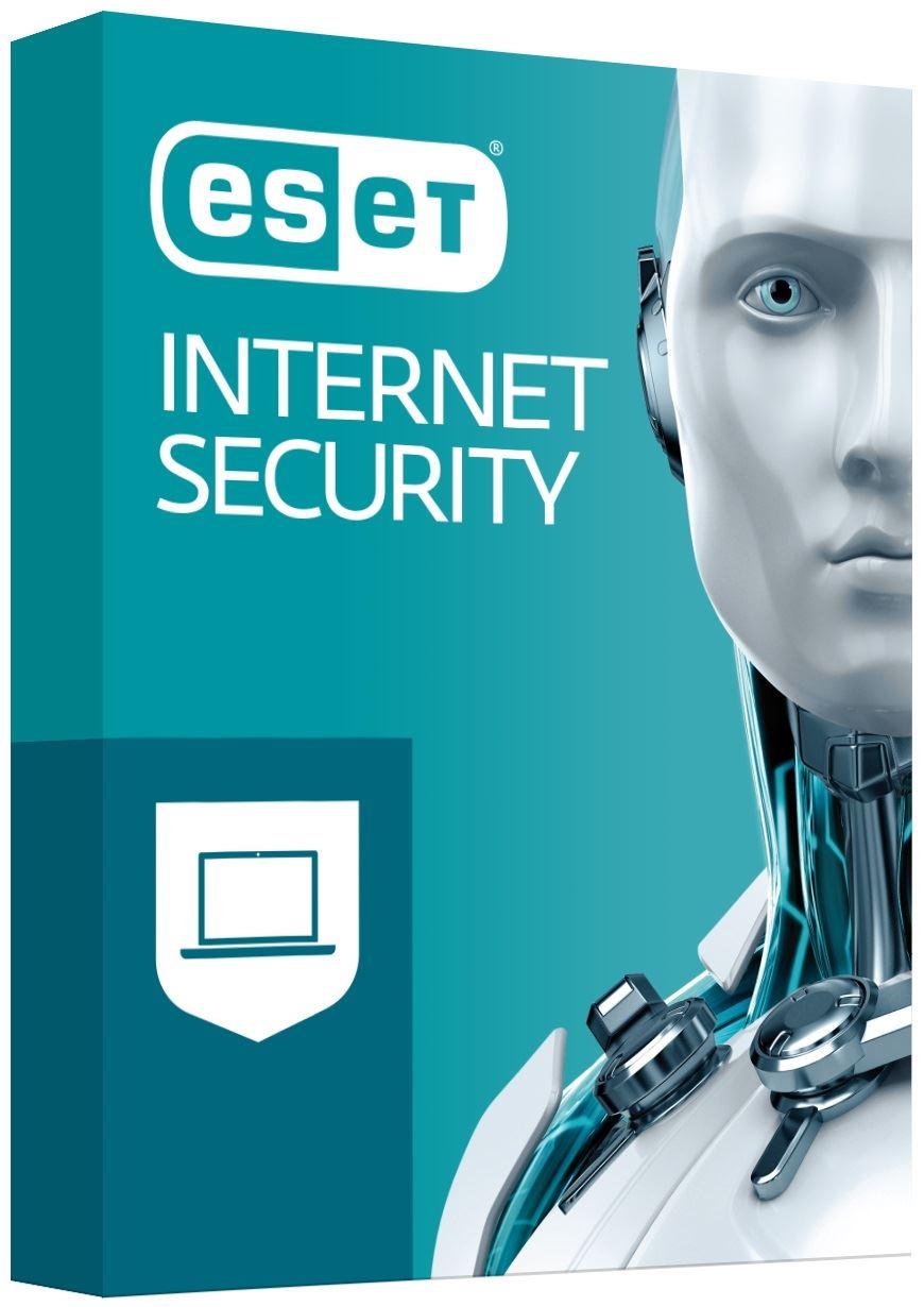 ESET Internet Security: Krabicová licencia 2 PC na 1 rok