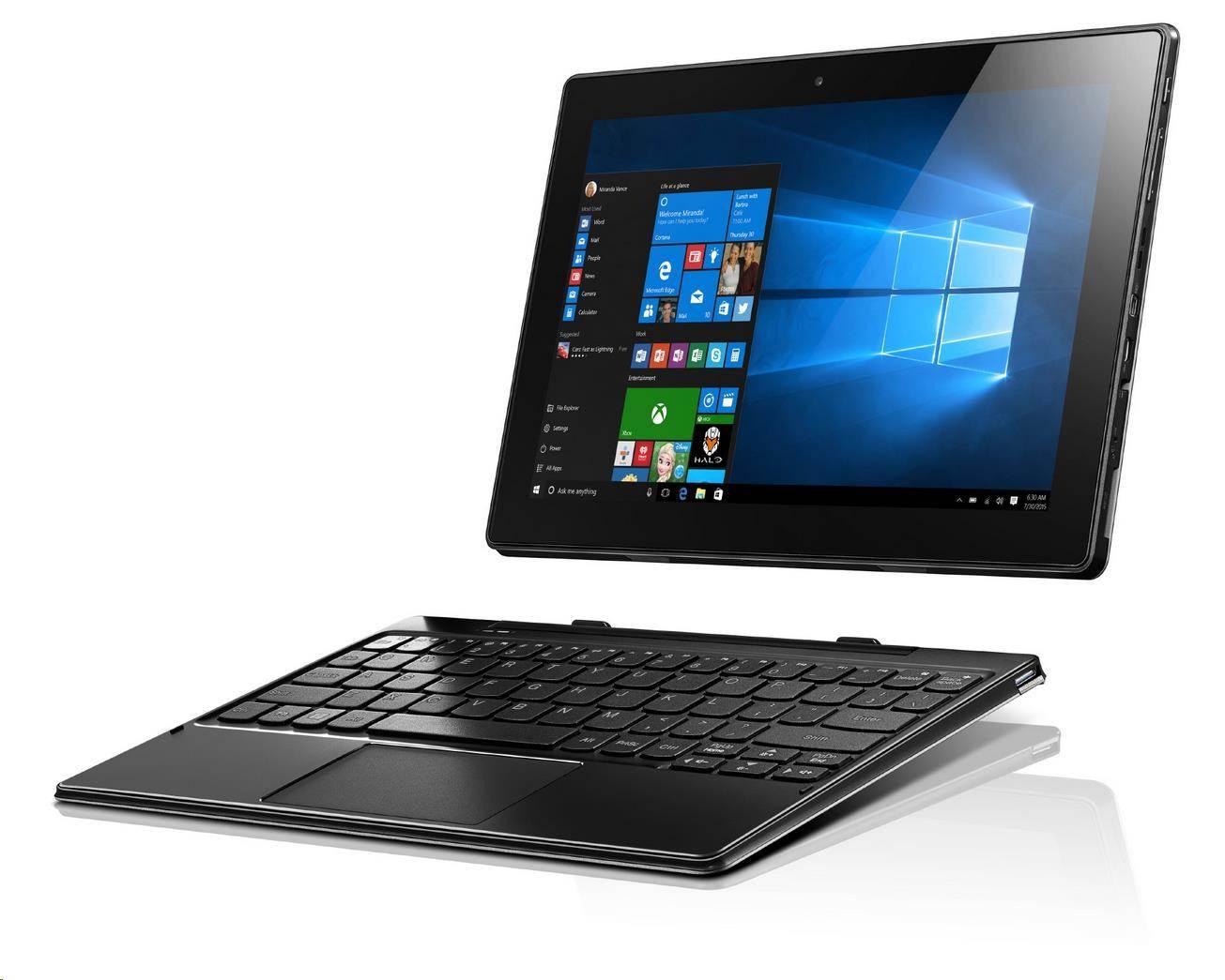 "LENOVO IdeaTab Miix 310-10 Intel-Z8350 2GB 64GB 10.1"" WXGA TOUCH LTE Win10 červeny"