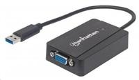 MANHATTAN USB 3.0 to SVGA adapter, max. 2048x1152 (Windows & Mac kompatibilní)