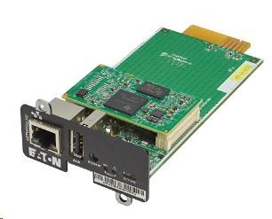 Eaton Komunikační karta MS Web/SNMP Gigabit (pro 5P, 5PX, 9PX, 9SX, 93PS, 93PM, 93E)