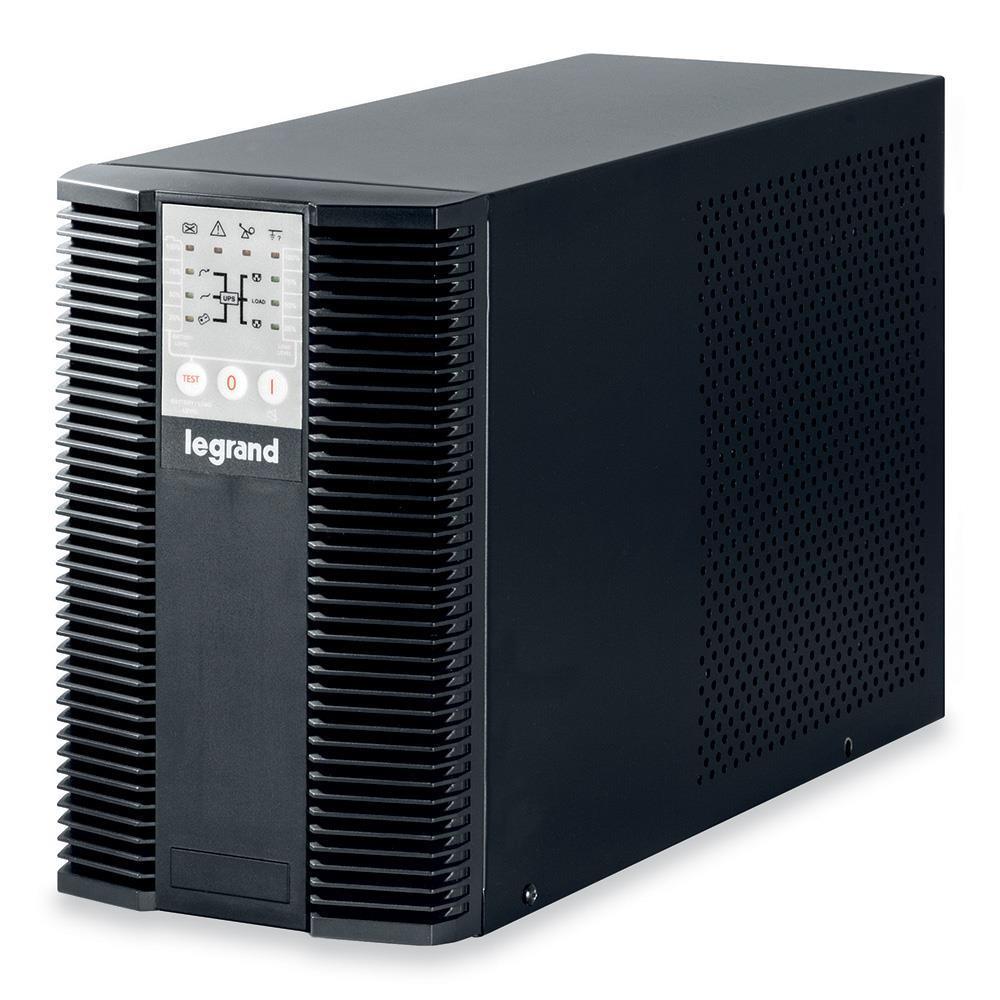 Legrand UPS KEOR LP 1000VA, on-line, 1000VA / 900W, RS232 komunikacia, Tower, 3 IEC + 1 FR