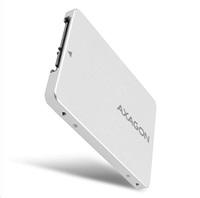 "AXAGON RSS-M2SD, SATA - M.2 SATA SSD, interný 2.5"" ALU box"
