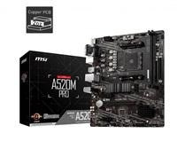 MSI MB Sc AM4 A520M PRO, AMD A520, VGA, 2xDDR4, mATX