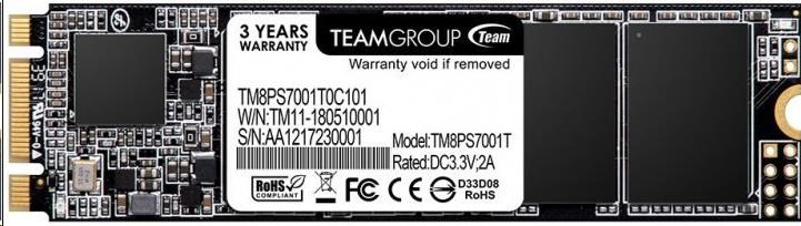 Team SSD M.2 256GB, MS30