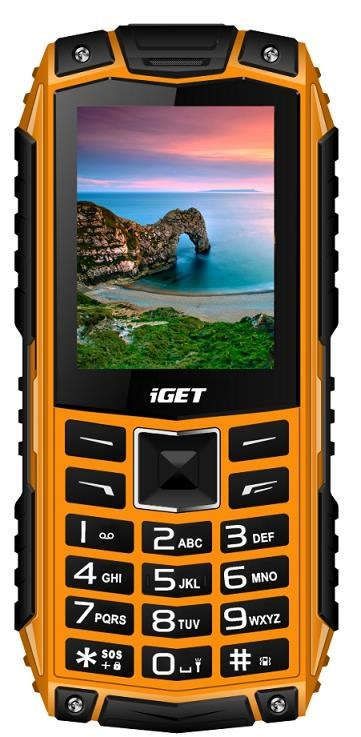 iGET Defender D10, Dual SIM, Orange