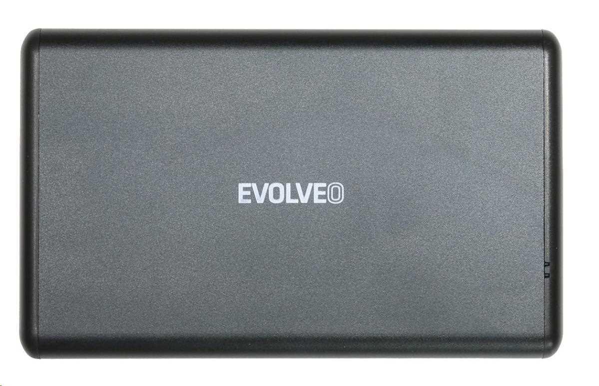 """EVOLVEO 2.5"""" Tiny 1, externí rámeček na HDD, USB 3.0"""