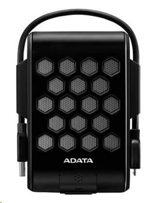 "ADATA  Externí HDD 2TB 2,5"" USB 3.1, DashDriveT Durable HD720, G-sensor, černý, (gumový, vodě/nárazu odolný)"