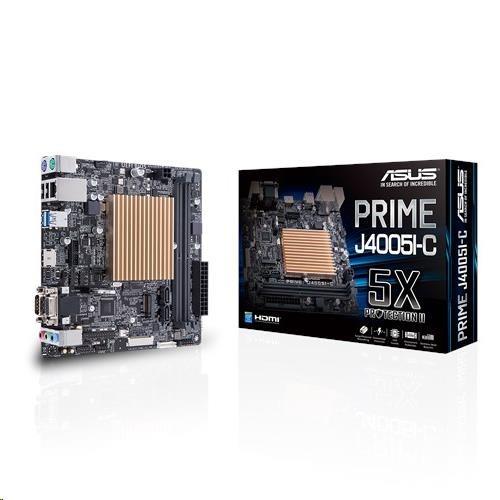ASUS MB PRIME J4005I-C, Intel CeleronR dual core J4005, 2xDDR4, mini-ITX