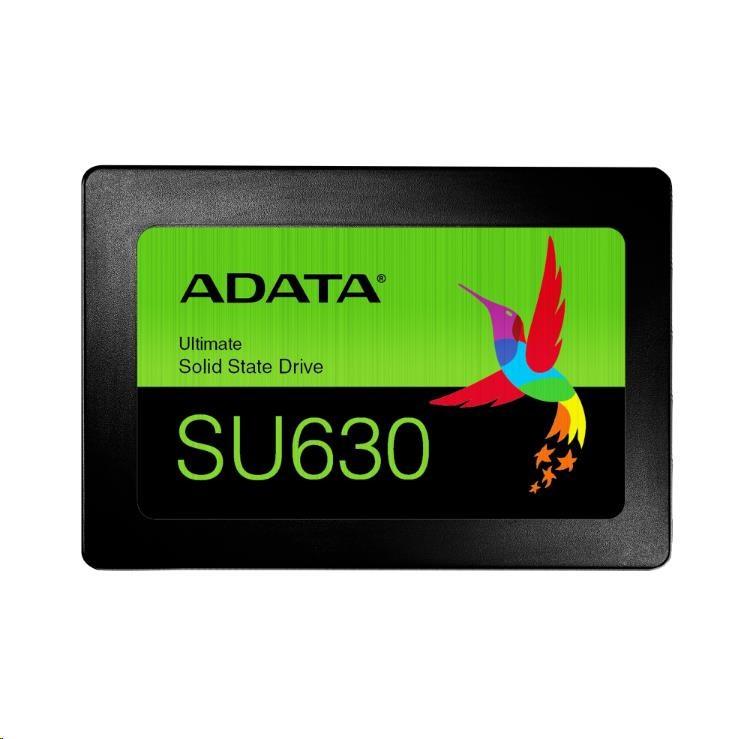 "ADATA SSD 480GB Ultimate SU630 2,5"" SATA III 6Gb/s (R:520/ W:450MB/s)"