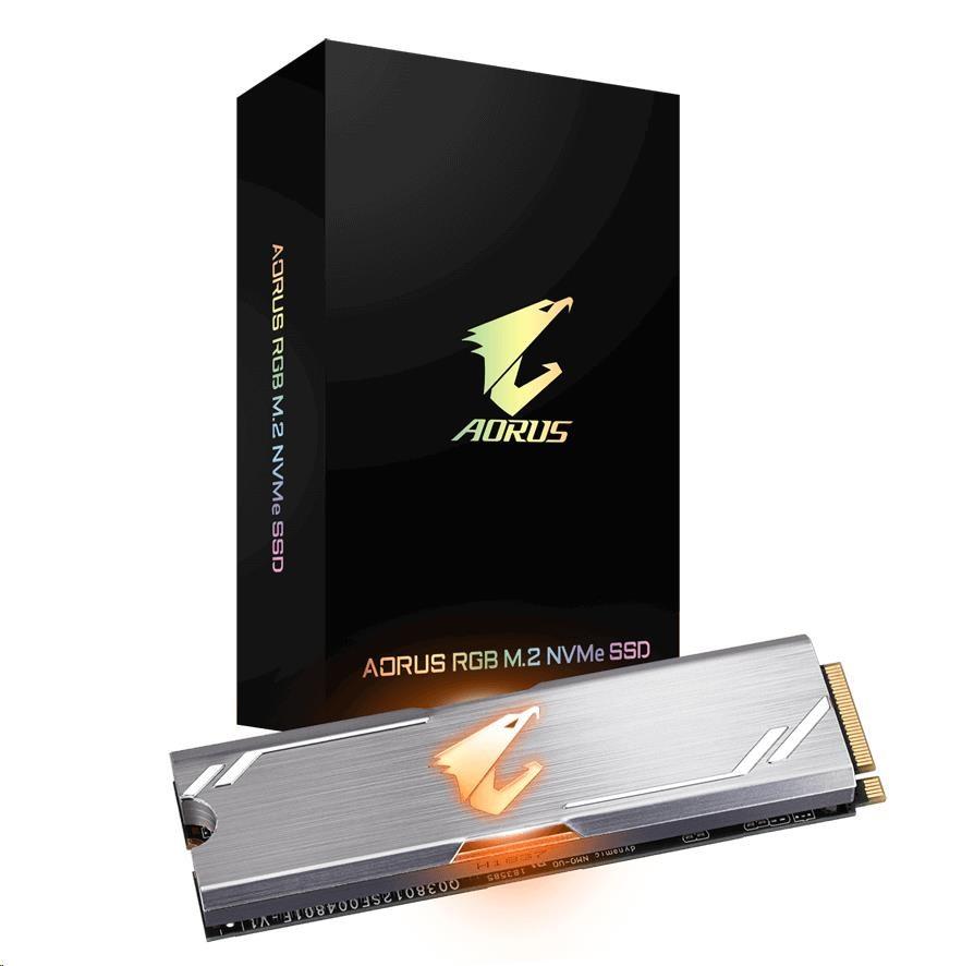 GIGABYTE SSD 256GB AORUS RGB M.2 NVMe
