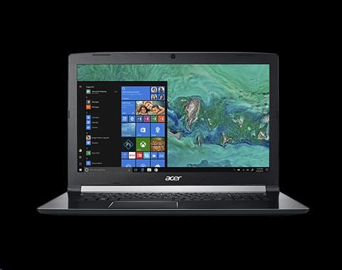 "ACER NTB Aspire 7 (A717-72G-55KZ) - i5-8300H@2.3GHz,17.3"" IPS FHD mat,8GB,256SSD+1TB54,nvd GTX 1050-4G,HDMI,backl,W10H"