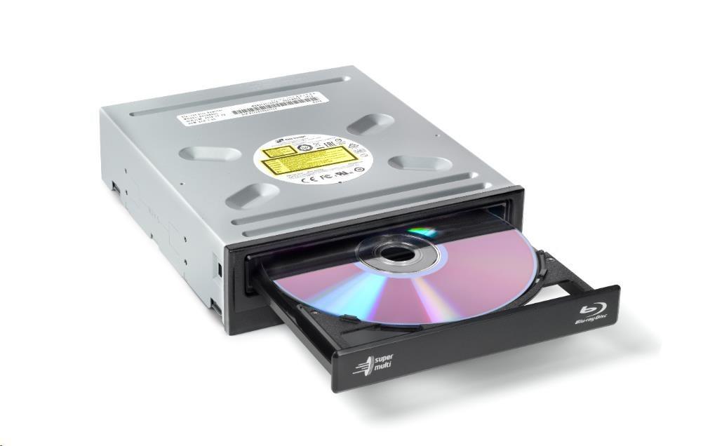 HITACHI LG - interní mechanika BD-W/CD-RW/DVD?R/?RW/RAM/M-DISC BH16NS55, Black, box+SW