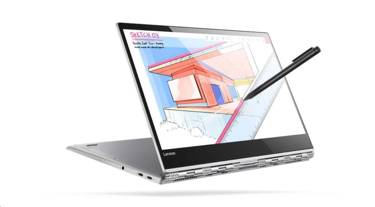 "Lenovo YOGA 920-13IKB i5-8250U 3,40GHz/8GB/SSD 256GB/13,9"" FHD/IPS/multitouch/ActivePen/WIN10"
