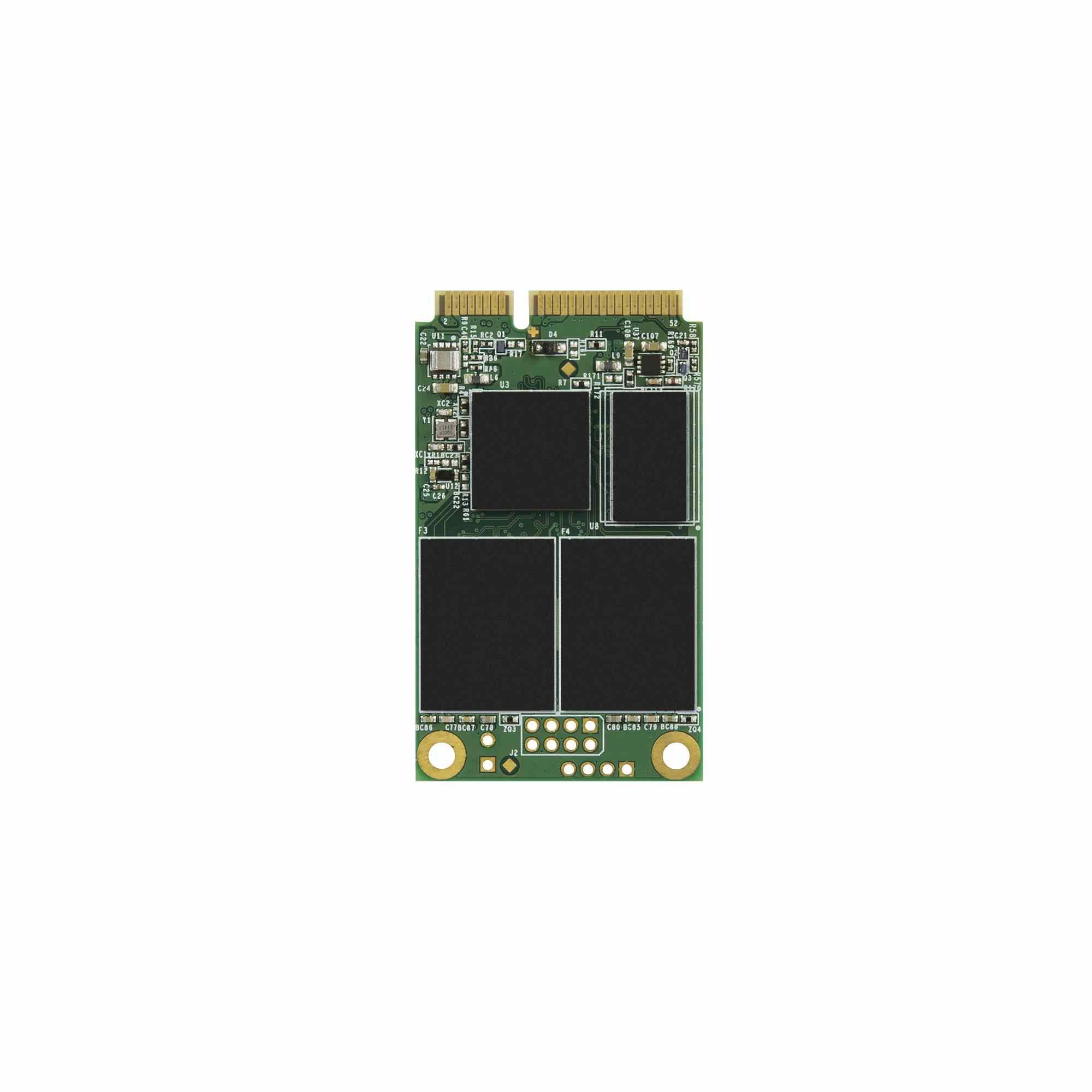 TRANSCEND Industrial SSD MSA230S, 128GB, mSATA, SATA III, 3D TLC