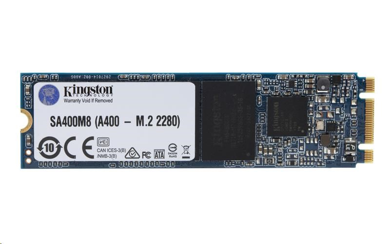 Kingston 120GB SSD A400 M.2 (R 500MB/s; W 320MB/s)