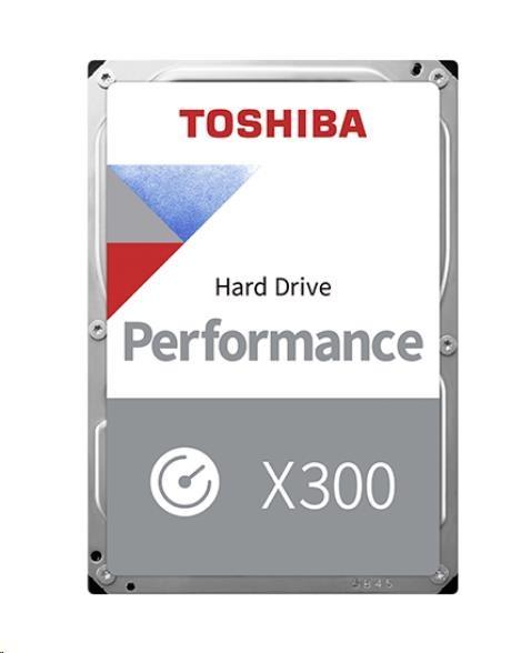 "TOSHIBA HDD X300 12TB, SATA III, 7200 rpm, 256MB cache, 3,5"""
