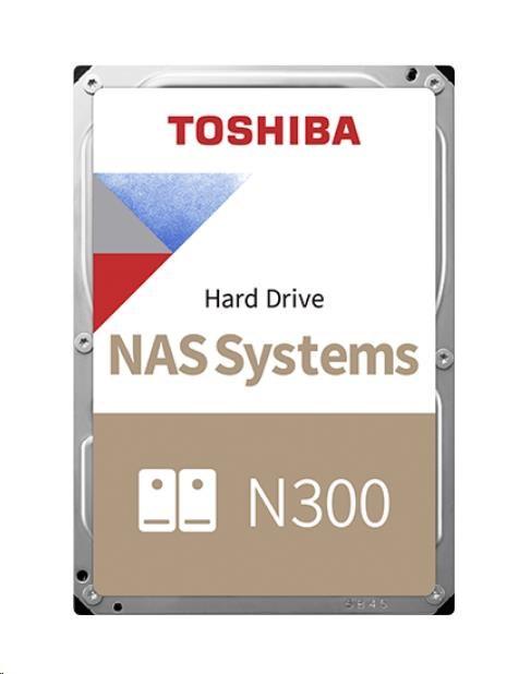 "TOSHIBA HDD N300 NAS 12TB, SATA III, 7200 rpm, 256MB cache, 3,5"""