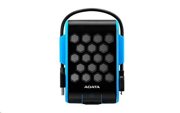 "ADATA  Externí HDD 1TB 2,5"" USB 3.1, DashDriveT Durable HD720, G-sensor, modrý, (gumový, vodě/nárazu odolný)"