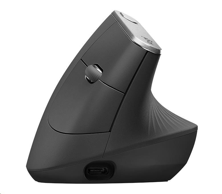 Logitech Wireless Mouse MX Vertical, graphite