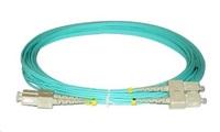 Duplexní patch kabel MM 50/125, OM3, SC-SC, LS0H, 2m