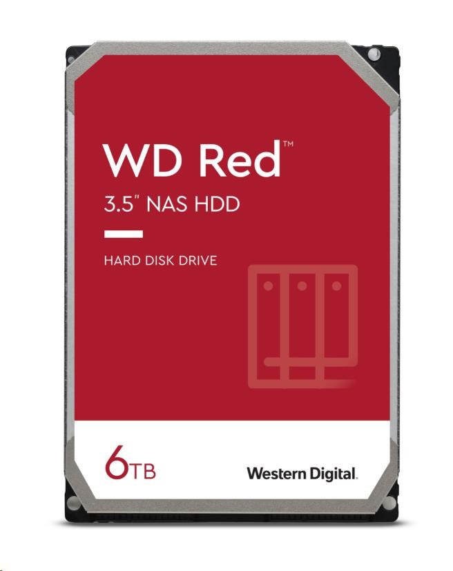 WD RED NAS WD60EFAX 6TB SATAIII/600 256MB cache