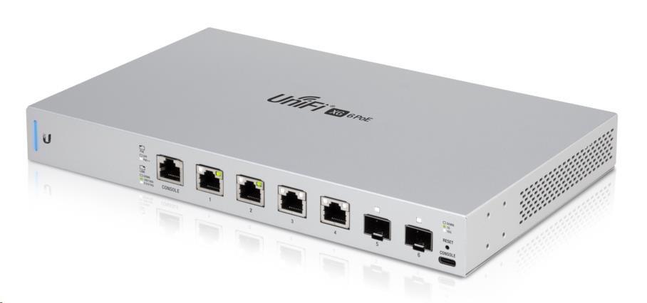 UBNT US-XG-6POE UniFi Switch, 10 Gigabit 6-port 802.3bt