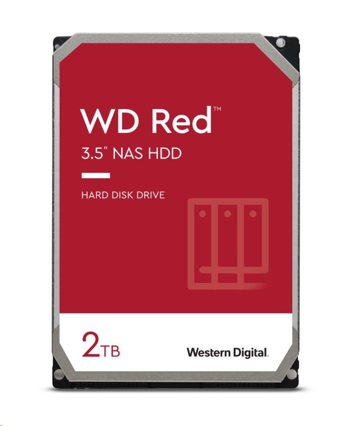 WD RED NAS WD20EFAX 2TB SATAIII/600 256MB cache, 180MB/s
