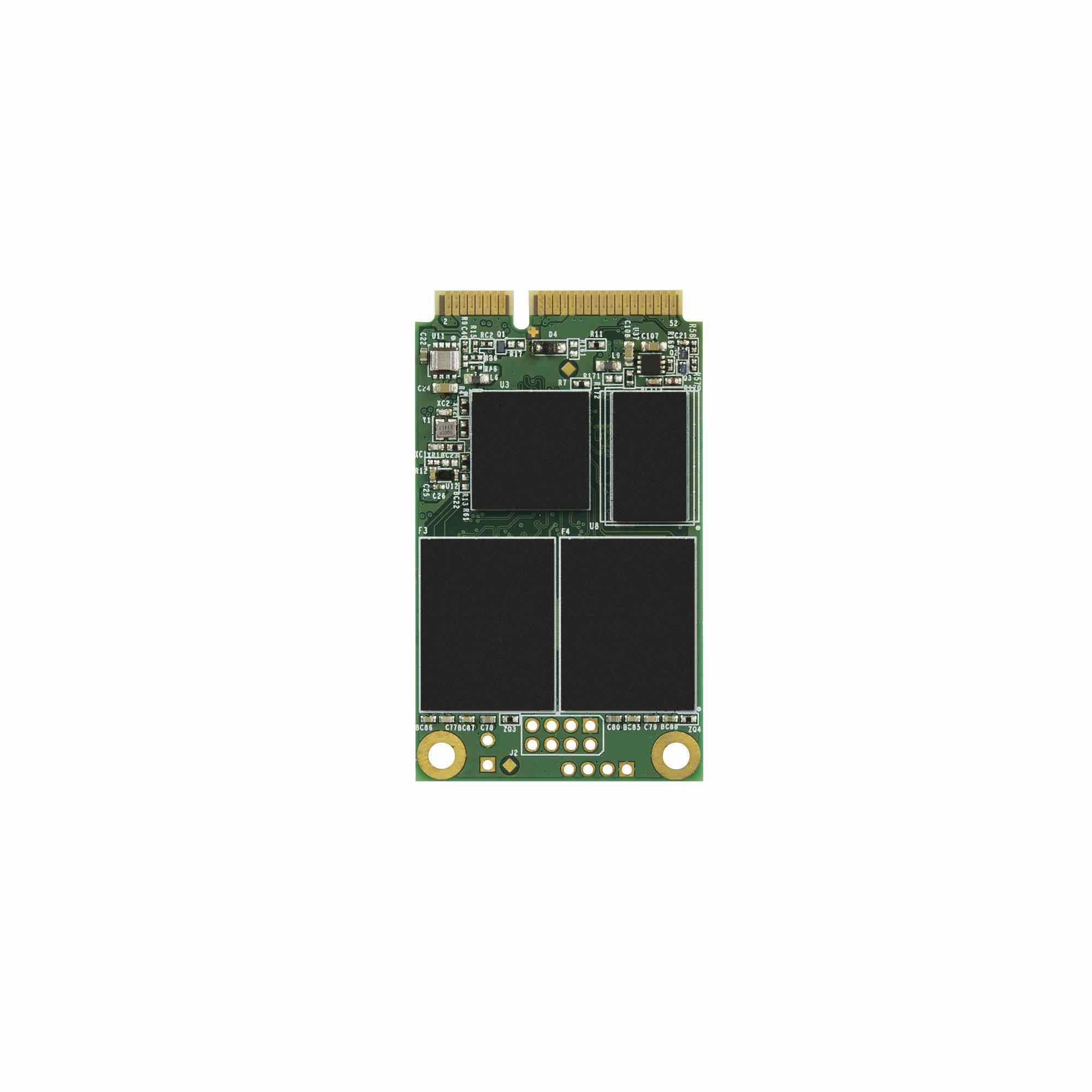 TRANSCEND Industrial SSD MSA230S, 256GB, mSATA, SATA III, 3D TLC