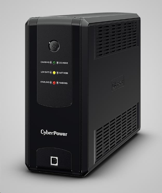 CyberPower UT GreenPower Series UPS 1050VA, 630W, German SHUKO zásuvky