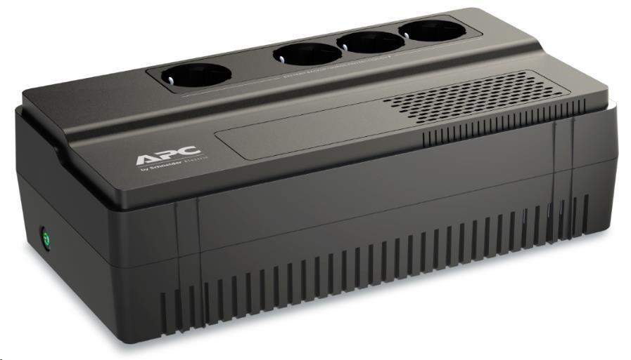 APC Easy UPS BV 650VA, AVR, IEC Outlet, 230V, (375W), German SHUKO zásuvky (4)