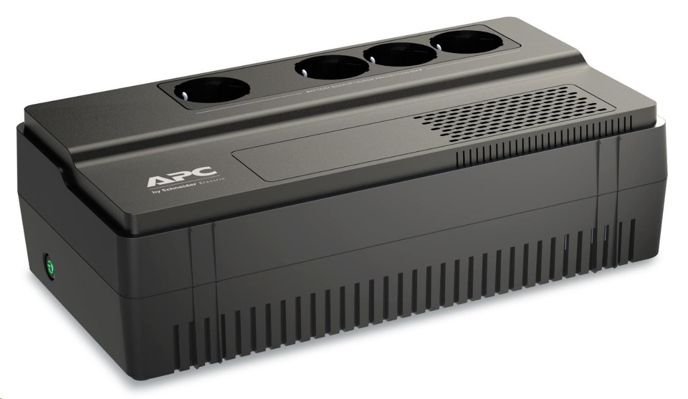 APC Easy UPS BV 800VA, AVR,IEC Outlet, 230V, (450W), German SHUKO zásuvky (4)