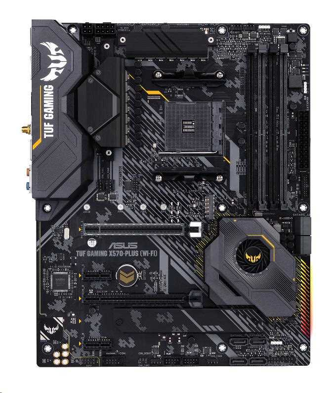 ASUS MB Sc AM4 TUF X570-PLUS GAMING (Wi-Fi), AMD X570, 4xDDR4, VGA