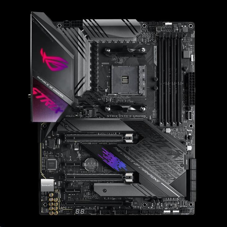 ASUS MB Sc AM4 ROG STRIX X570-E GAMING, AMD X570, 4xDDR4, VGA