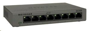 Netgear GS308 Gigabit Switch 8 portů, kovový