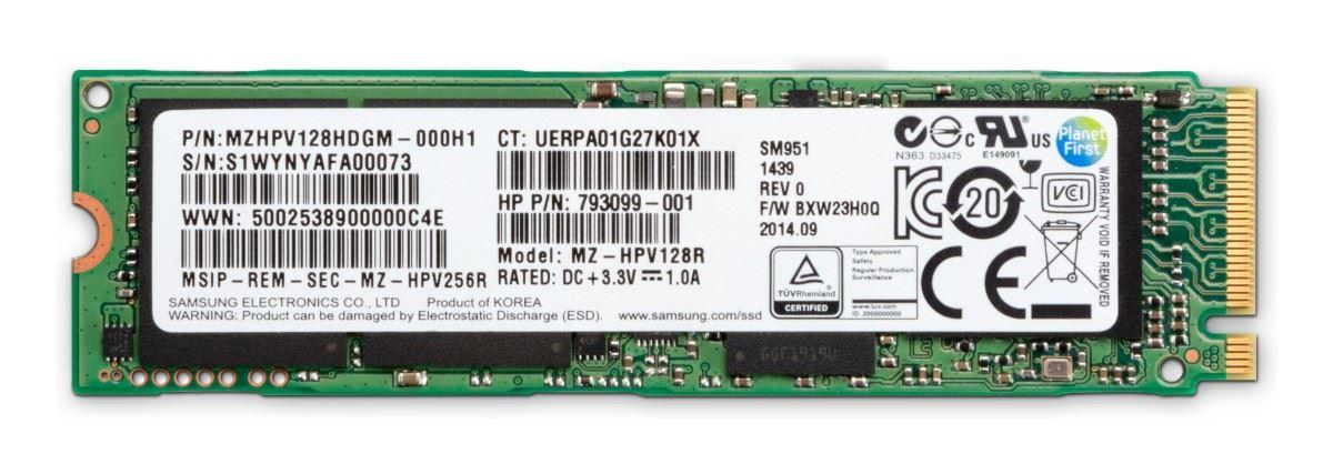 HP Z Turbo Drive 1TB TLC Z8G4 SSD Module m.2
