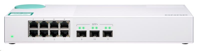 QNAP QSW-308S (3xSFP+/8x1GbE)