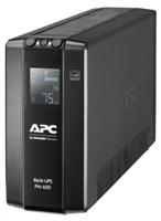 APC Back UPS Pro BR 650VA, 6 Outlets, AVR, LCD Interface (390W)