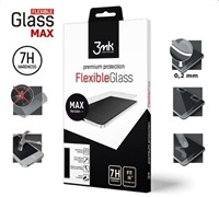 3mk hybridní sklo FlexibleGlass Max pro Xiaomi Redmi Note 7, černá