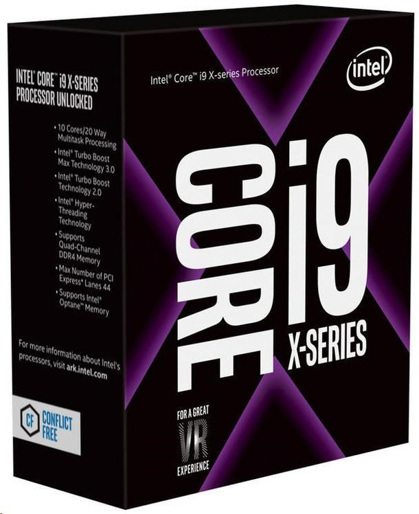 CPU INTEL Core i9-10900X 3,7 GHz 19,25MB L3 LGA2066 BOX (neobsahuje chladič)