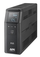 APC Back UPS Pro BR 1200VA, Sinewave, 8 Outlets, AVR, LCD interface (720W)