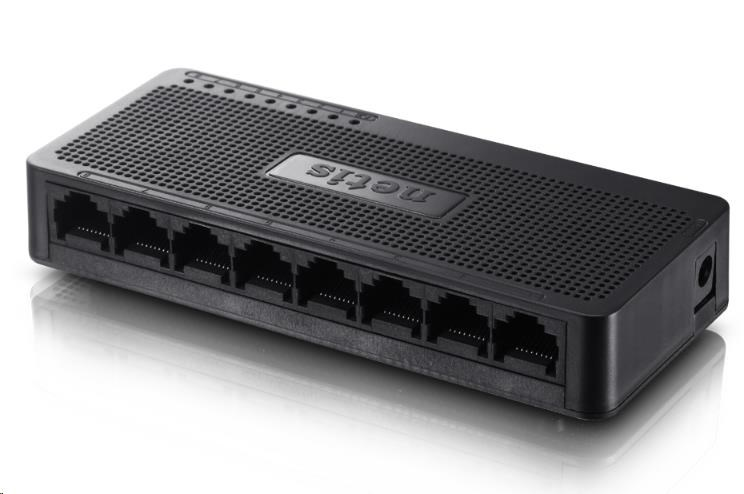 Netis ST-3108S fast ethernet switch, 8x10/100