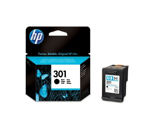 HP 301 Black Ink Cart, 3 ml, CH561EE